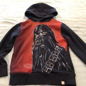 Boy Star Wars sweatshirt